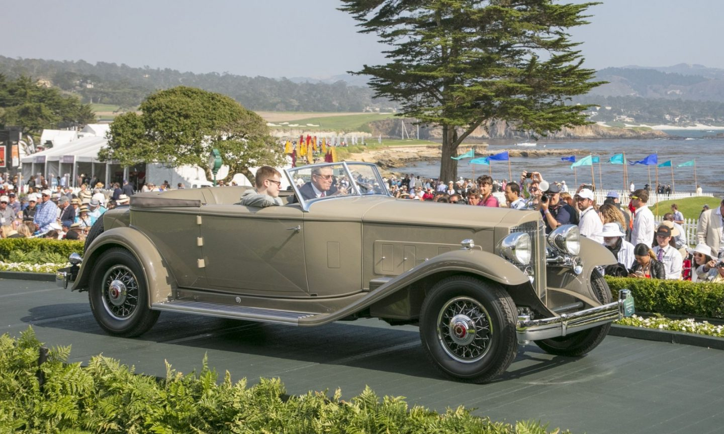 1932 Packard 906 Twin Six Dietrich Convertible Victoria