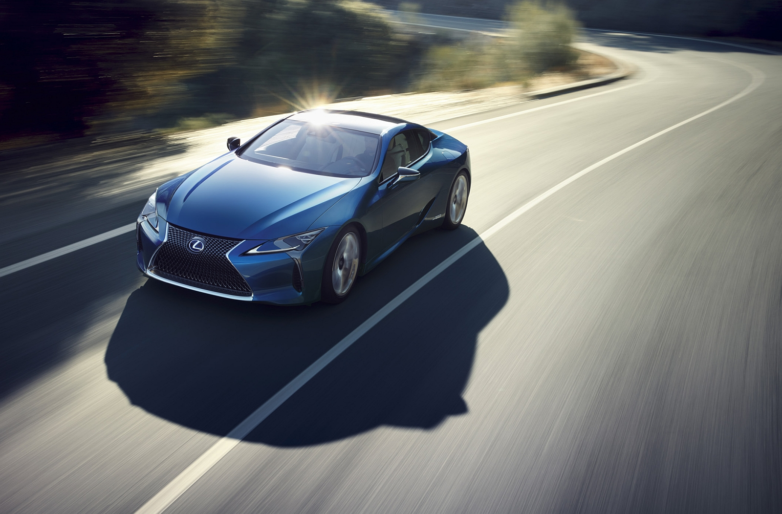 Lexus LC Structural Blue Edition