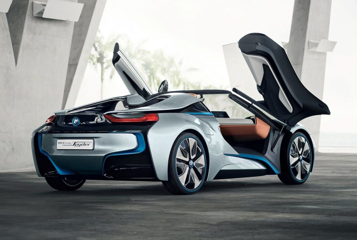 BMW i8 Spyder Concept rear