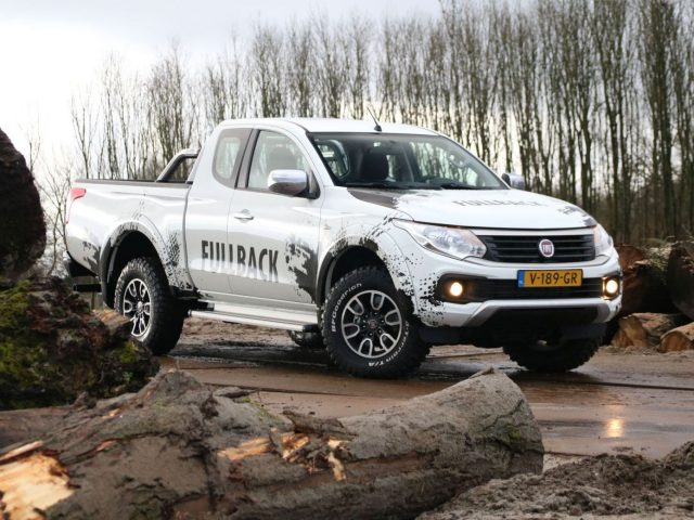 2017 Fiat Fullback pick-up
