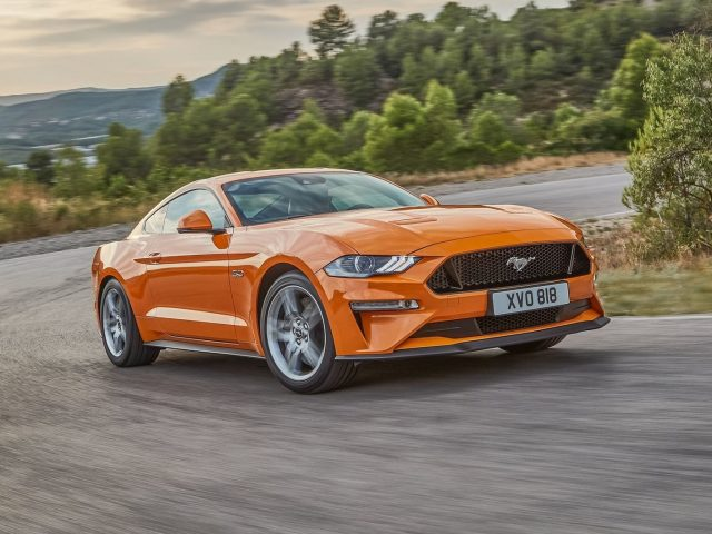 2017 Ford Mustang EU facelift