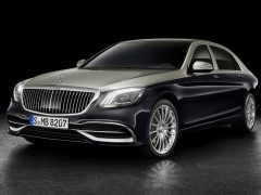 2018 Mercedes-Maybach S-klasse