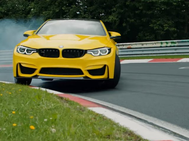 BMW M4 CS Pennzoil