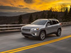 Jeep Cherokee 2018 facelift