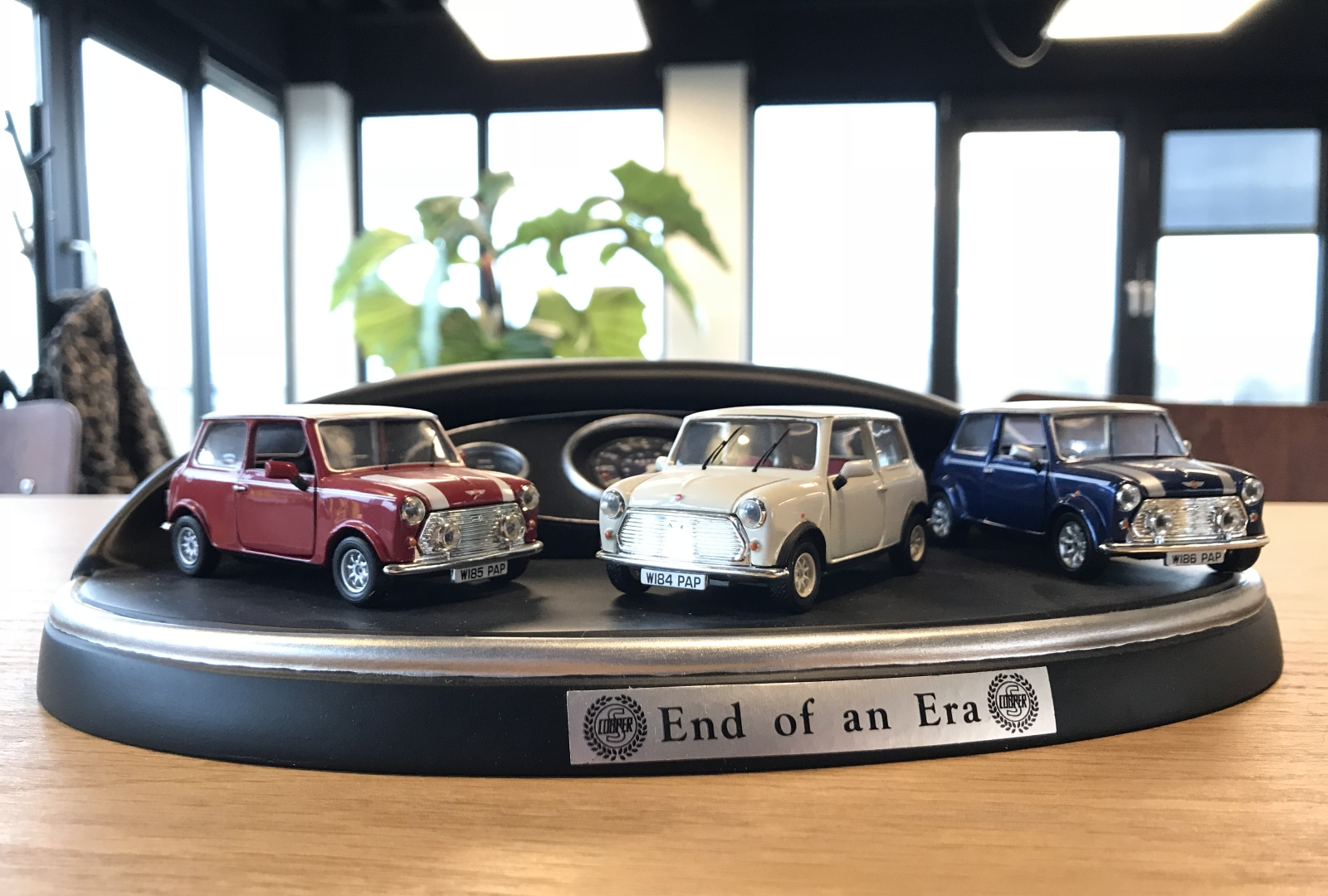 MINI End of an Era AutoRAI in Miniatuur