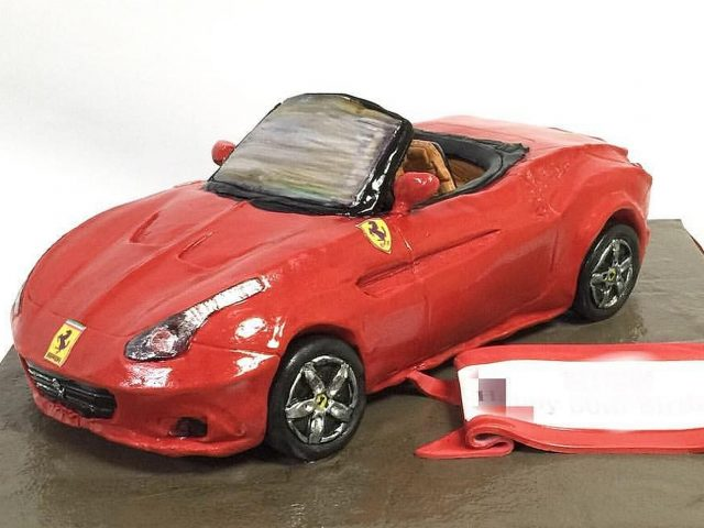 mcakes japan ferrari california