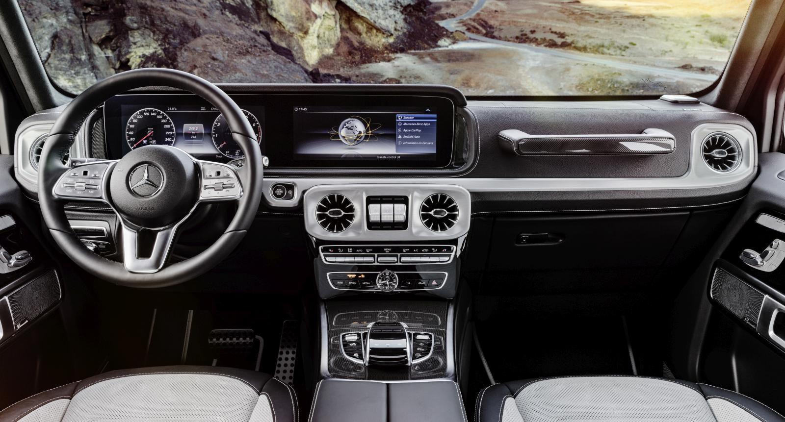 Dit Is De Werkplek In De Nieuwe Mercedes Benz G Klasse