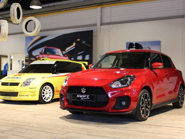 suzuki swift sport 2018 sneak preview in nederland. Black Bedroom Furniture Sets. Home Design Ideas