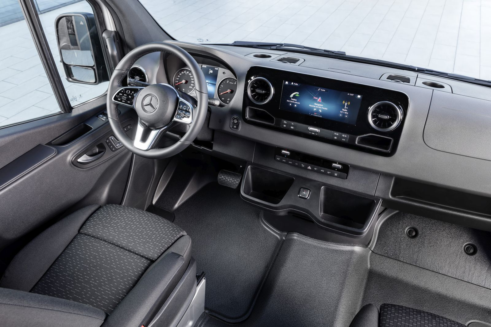 Mercedes-Benz Sprinter (2018) interieur