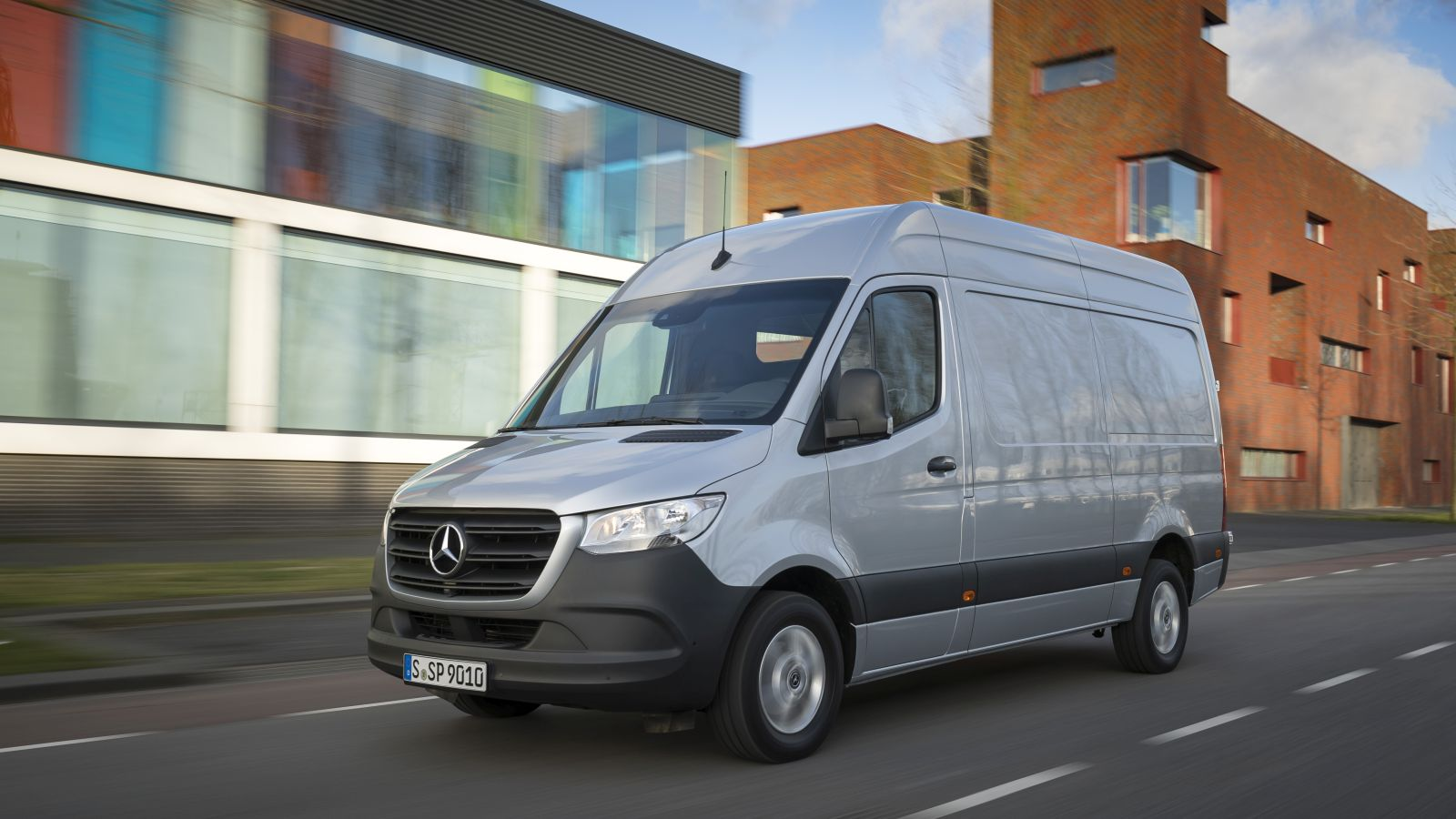 Autotest Mercedes Benz Sprinter 2018