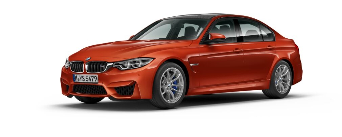 BMW M3 Sedan F80 - Sakhir Orange II