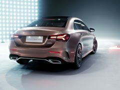 Mercedes-Benz A-Class, Z 177, China, Sedan, long wheel base