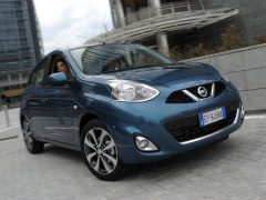 Nissan Micra MY2014