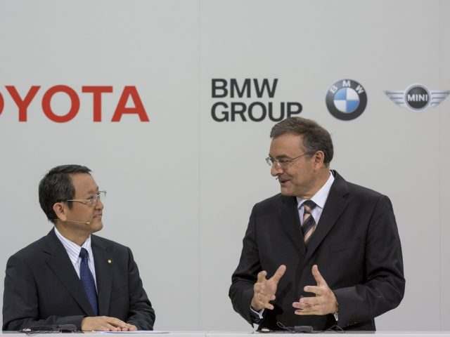 Pressegespräch BMW Group und Toyota Motor Corporation, Press Meeting BMW Group and To