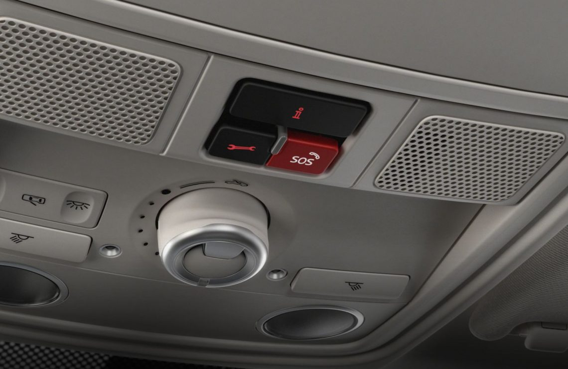 Volkswagen Car-Net sos button