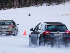 Opel 4x4 wintertest