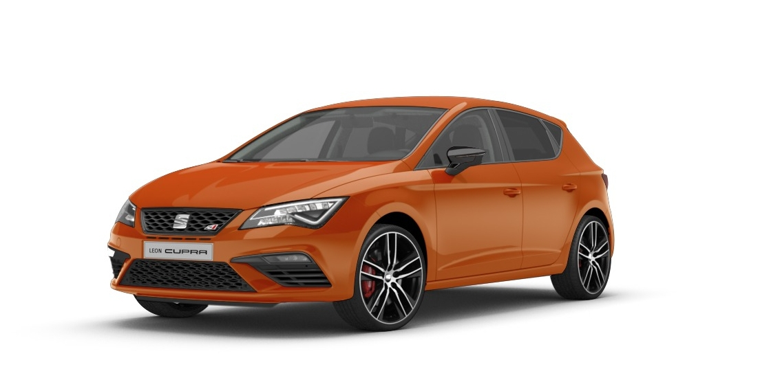 Seat Leon Cupra 300 - Eclipse Orange