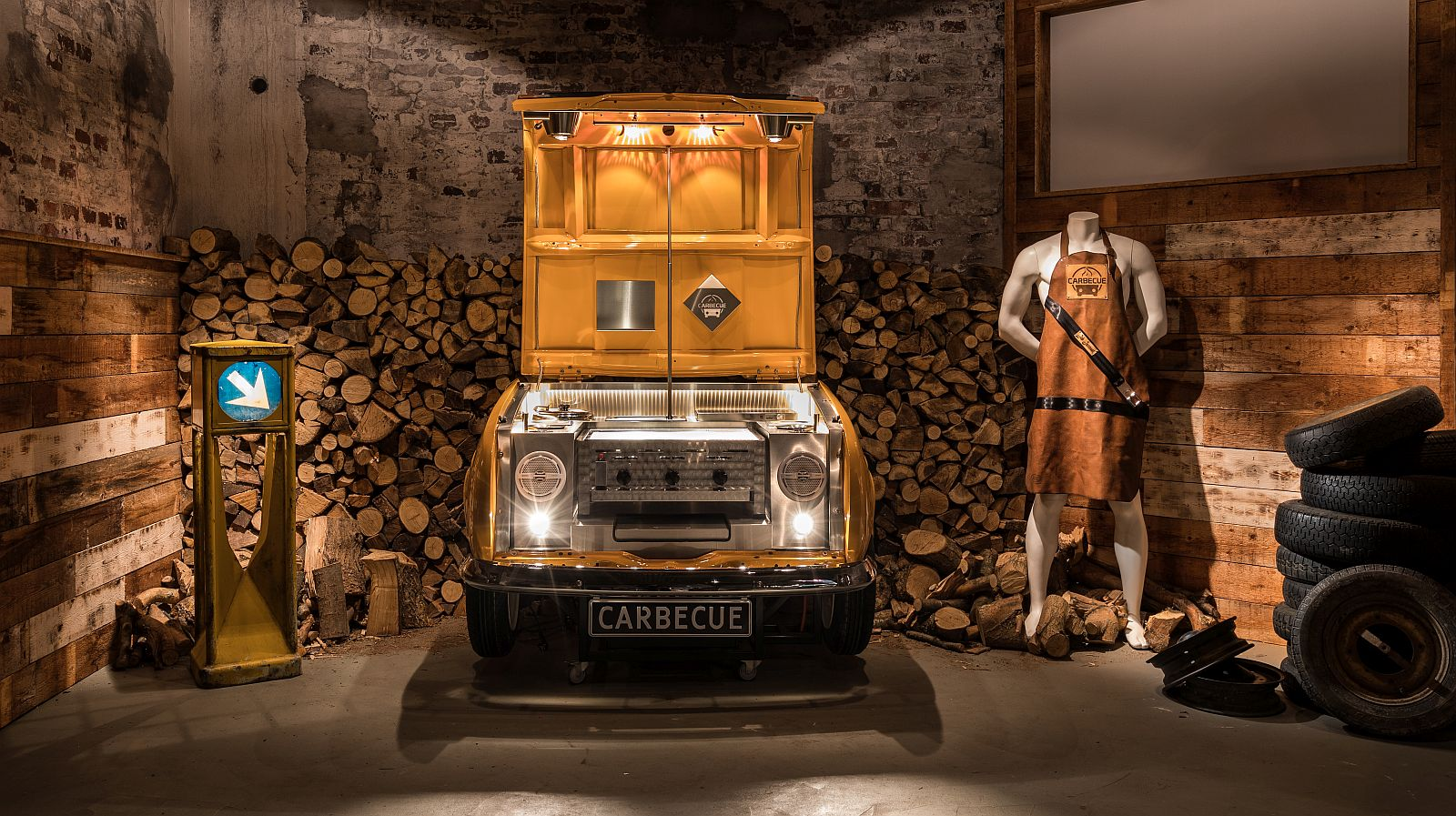 Carbecue Renault 4