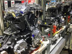 Motorproducent Harley-Davidson assembly line