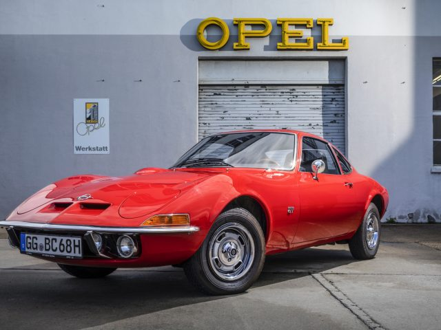 """Dream car: Even 50 years after its introduction the slogan """"Only flying is better…"""" still applies to the Opel GT."""