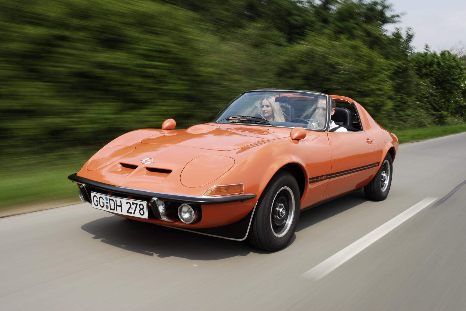 Only a dream: Opel presented the Aero GT concept car at the 1969 Frankfurt Motor Show – unfortunately, it was never made in series.