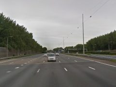 A16 - Hectometerpaal 28,2 - Rotterdam-Breda (Foto: Google Maps)