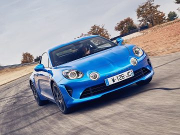 2018 Alpine A110 coupé