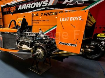 2001 Arrows AX3 F1 3-seater