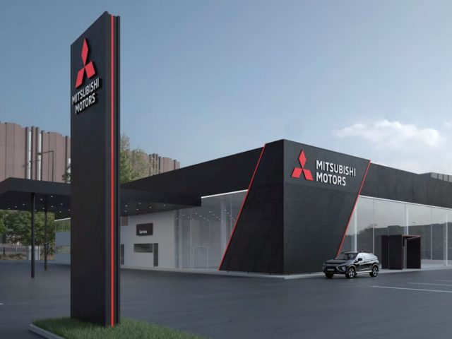 Mitsubishi Motors corporate identity 2018