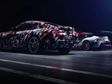 Toyota Supra tijdens Goodwood Festival of Speed 2018