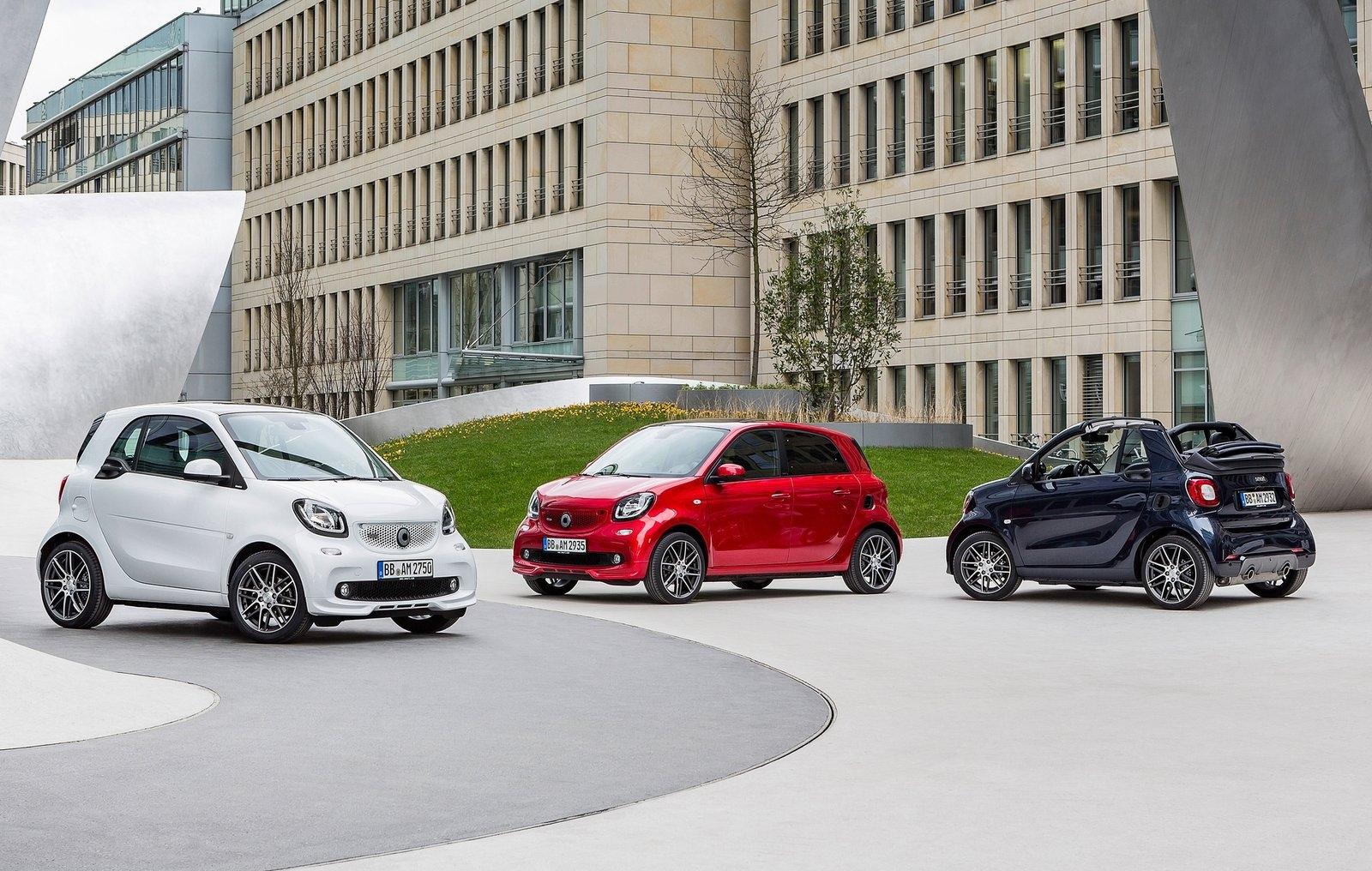 smart fortwo brabus smart forfour brabus