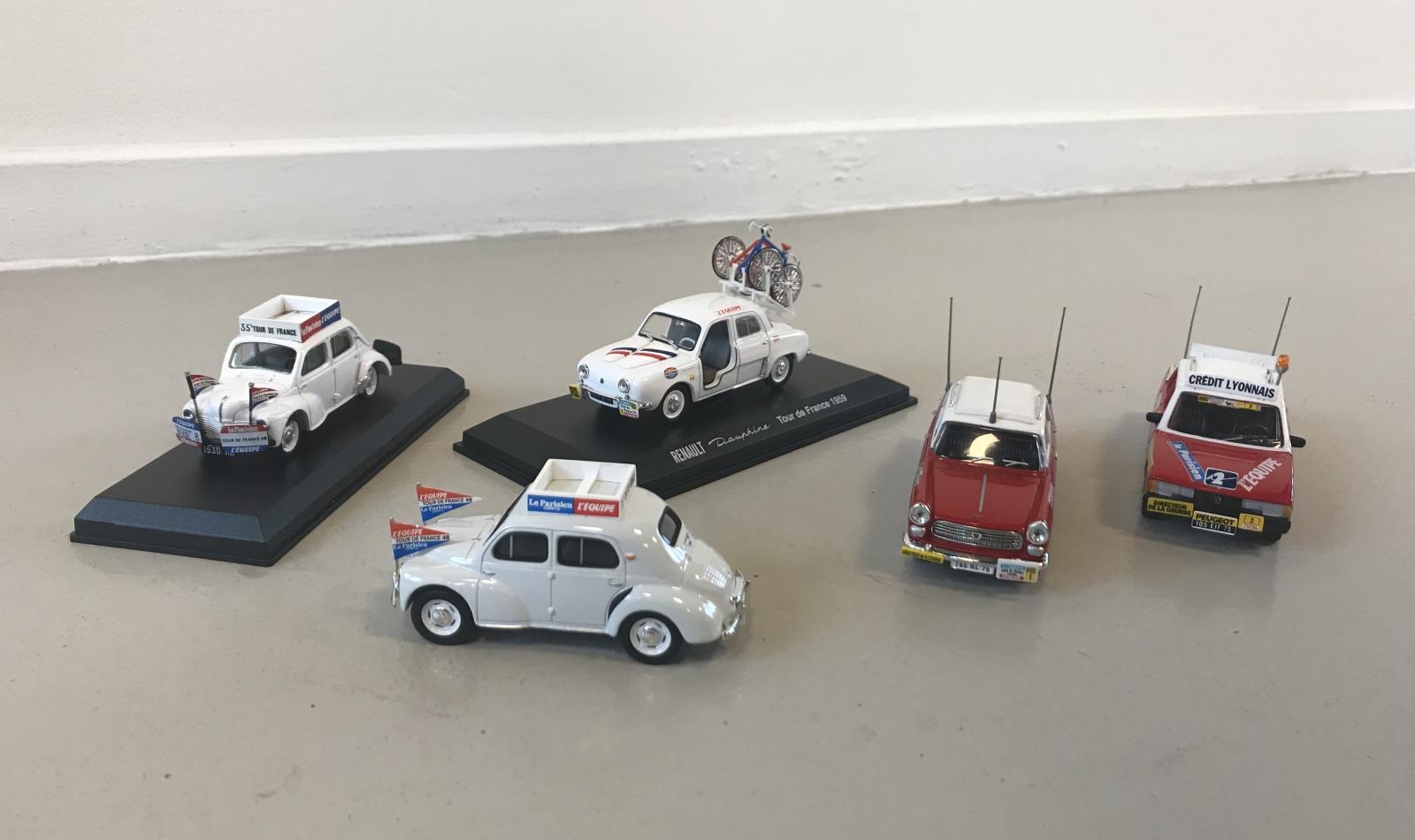 AutoRAI in Miniatuur: Auto's uit de Tour de France
