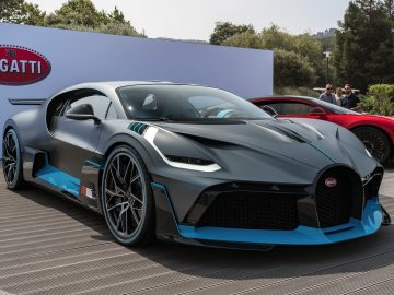 Bugatti Divo op Pebble Beach