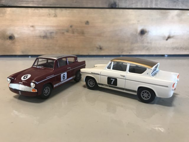 AutoRAI in Miniatuur The Broadspeed Racing Anglia's