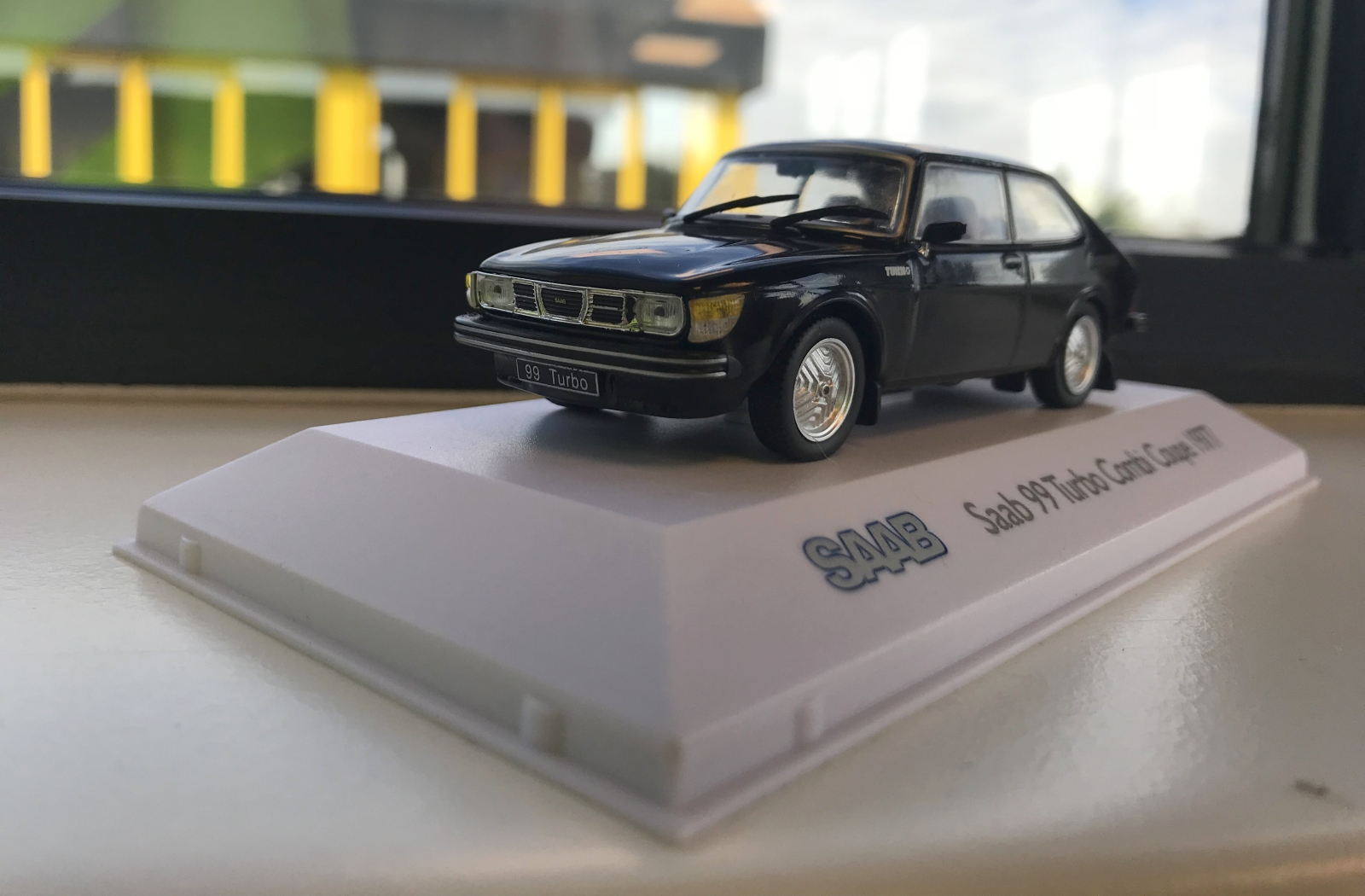 Saab 99 Turbo Combi Coupé 1977 - AutoRAI in Miniatuur