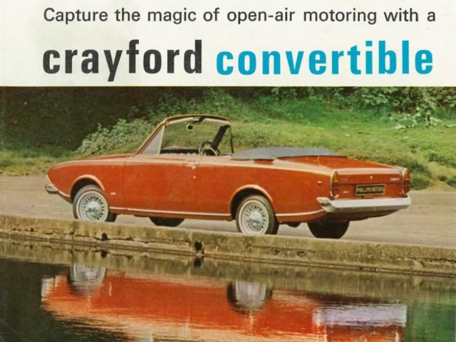 Ford Corsair Crayford Convertible