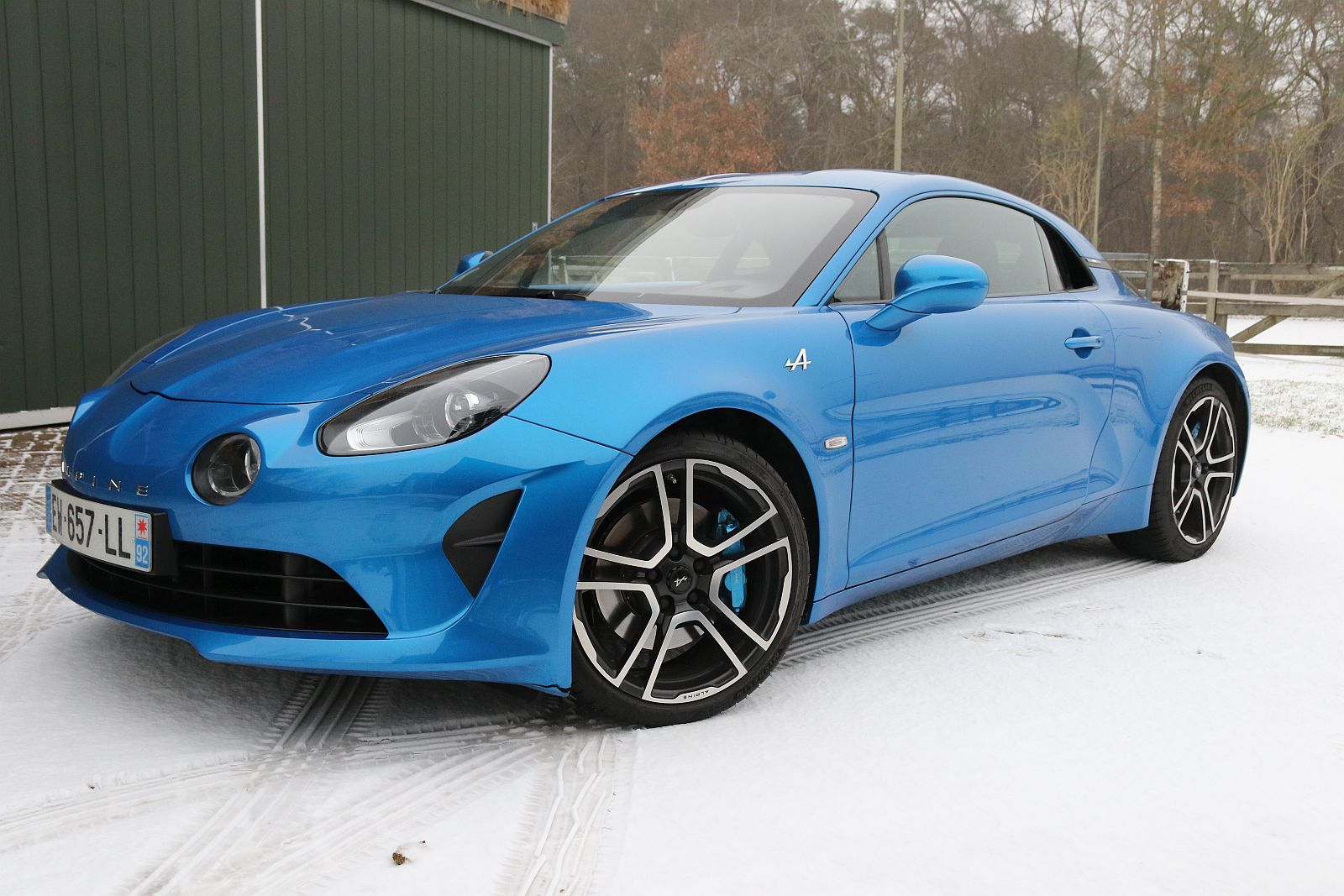 Autotest - Alpine A110
