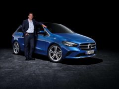 Demetrios Reisner, productmanager Mercedes-Benz B-Klasse