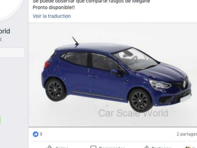 Car Scale World - Nieuwe Renault Clio
