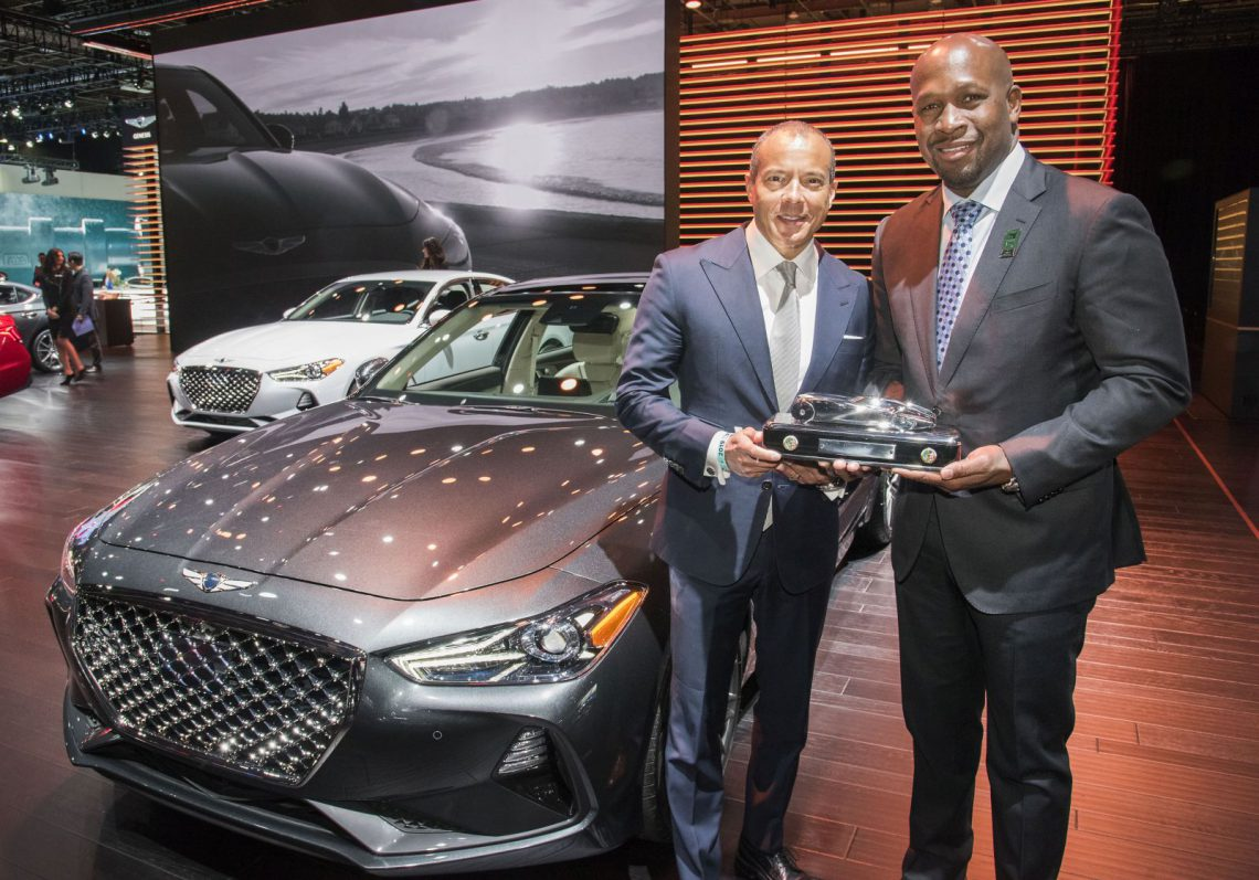 Genesis G70 named 2019 Car of the Year