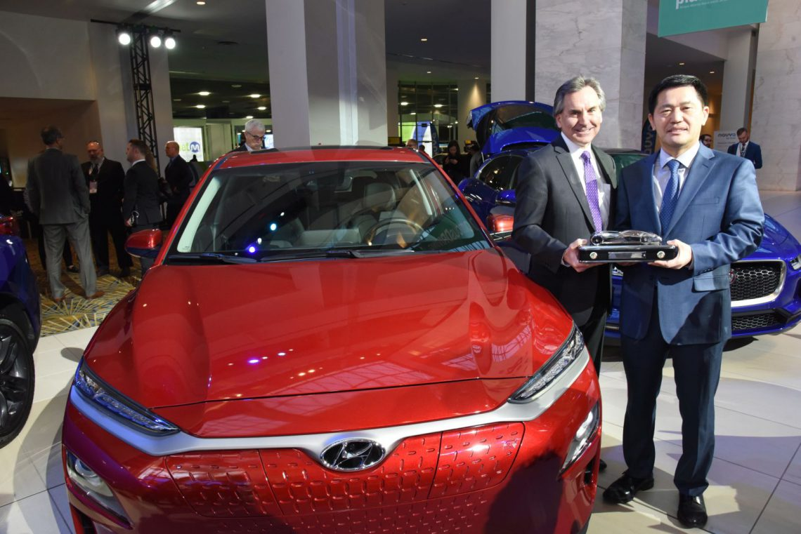 Hyundai KONA SUV of the Year 2019 Detroit