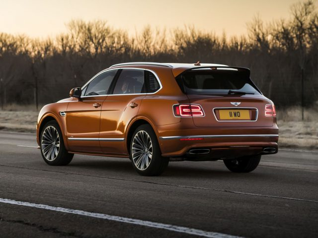 2019 Bentley Bentayga Speed