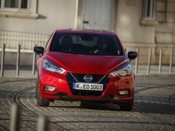 Nissan Micra - Red Micra Xtronic 2019