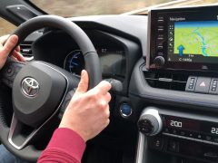Toyota RAV4 Infotainment Review