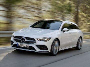 Mercedes-Benz CLA Shooting Brake, X118, 2019, AMG-Line, Exterieur, digitalweiß   Mercedes-Benz CLA Shooting Brake, X118, 2019, AMG-Line, exterior, digital white