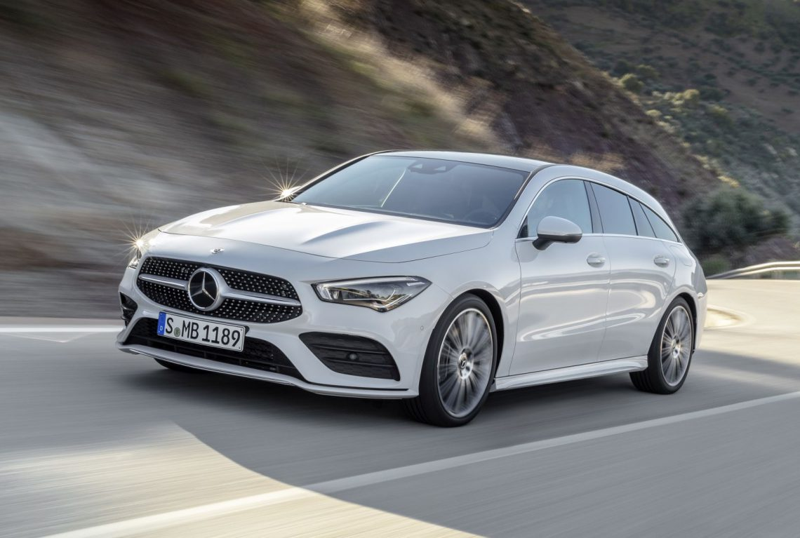 hier is de mercedes benz cla shooting brake. Black Bedroom Furniture Sets. Home Design Ideas