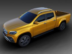 Verlengde Mercedes-Benz X-klasse pick-up