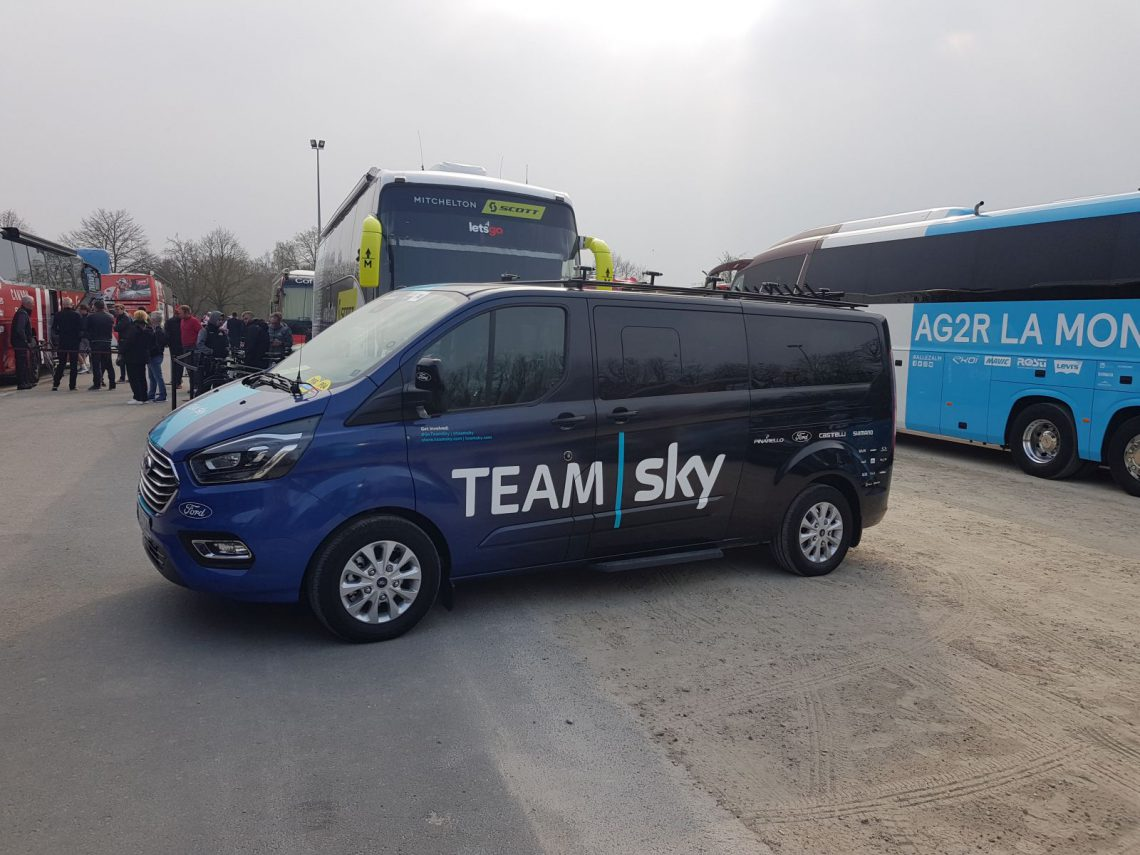 Ford Transit Team Sky