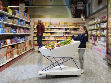 'Self-Braking Trolley' Could Help to Make Supermarket Shoppi