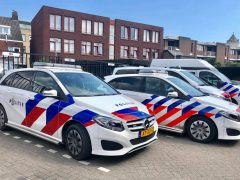 Mercedes-Benz politie striping